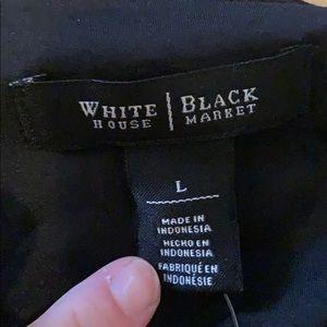 White House Black Market Tops - NEW WHITE HOUSE BLACK MARKET textured tank Top